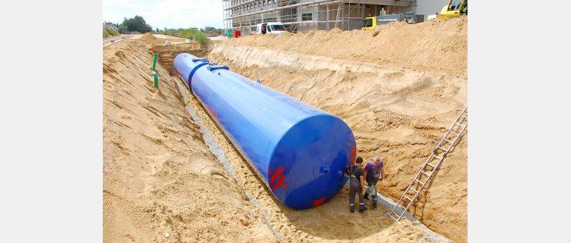 Löschwassertanks