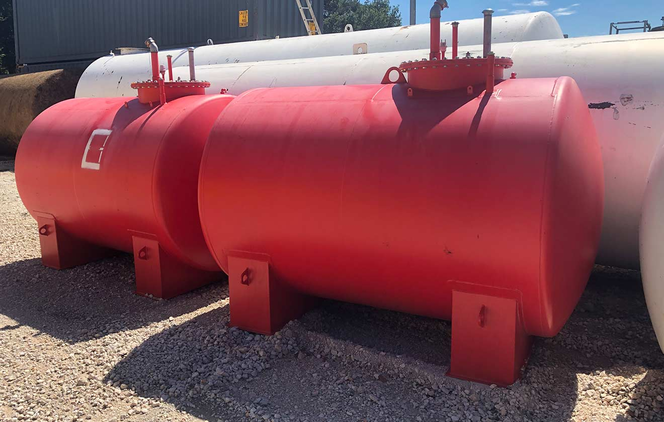 Gebrauchte 5000l Stahltanks nach DIN 6616