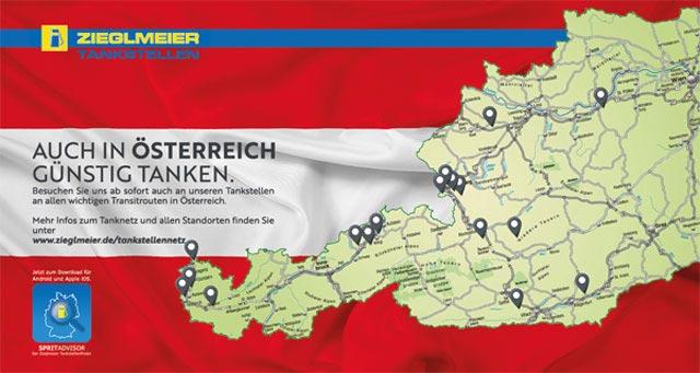 Tankstellen Oesterreich